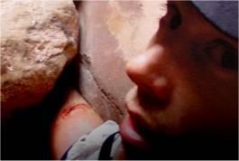 Aron Ralstons eingeklemmter Arm