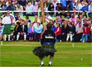 Highland Games in Schottland