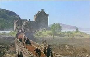 Schnappschuss aus dem Film: Eilean Donan Castle
