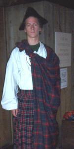 Jan als Highlander