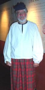 Willi als Highlander
