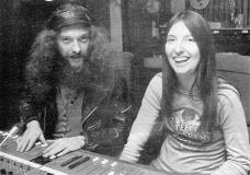 Ian Anderson (Jethro Tull) mit Maddy Prior