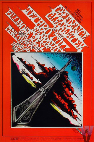 Fillmore West in San Francisco 13. bis 16.03.1969: Jethro Tull & Creedence Clearwater Revival