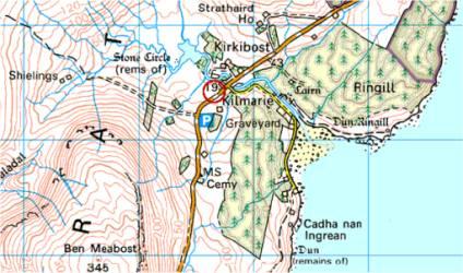 Kilmarie und Dun Ringill