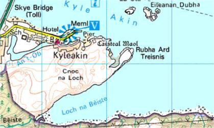 Kyleakin und Moil Castle