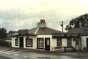 das erste Haus in Schottland