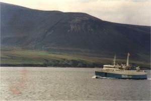 Fähre zu den Orkney-Inseln