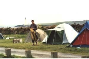 Campingplatz in Stromness (Mainland der Orkney-Inseln)