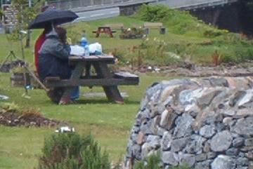 Schottisches Picknick