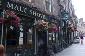 Malt Shovel in Edinburgh