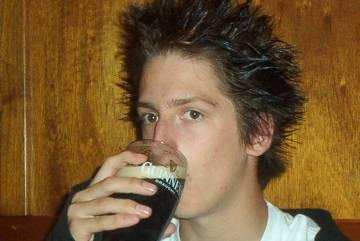 Jan und ein Guinness