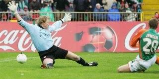 Hände hoch, Herr Kahn! (Werders 2:0 durch Jensen)