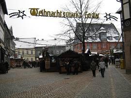 Weihnachtsmarkt Goslar/Harz 28.11.2010