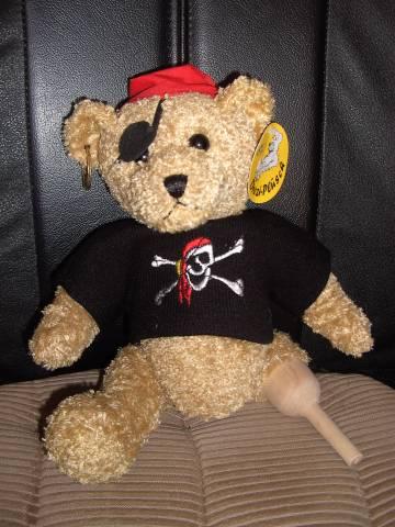 Christas Bärchen: Pirat