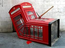 Britische Telefonzelle: Das Aus?