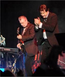 Chris Spedding mit Bryan Ferry 2007