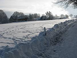 Wintereinbruch in Clausthal-Zellerfeld/Oberharz 27.11.2010