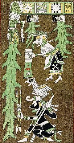 Codex Dresdensis - Faksimile Graz 1975 - Seite 74 (Ausschnitt)