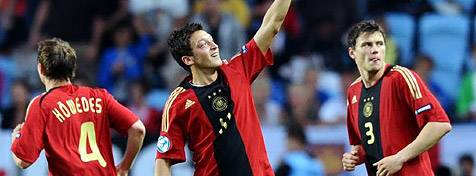 U21-Europameister 2009: Höwedes, Özil und Boenisch