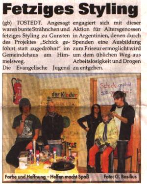 Fetziges Styling - Tostedt