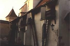 Kirchenburg in Harman