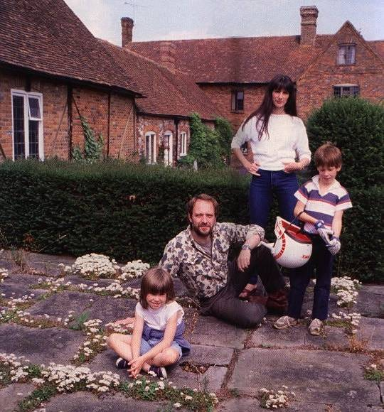 Familie Ian Anderson 1984