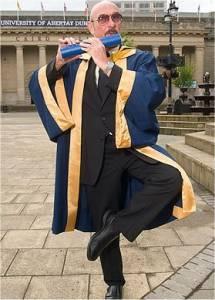 Ehrendiplom der Abertay University Dundee