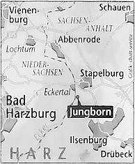 Jungborn im Eckertal zwischen Bad Harzburg und Stapelburg