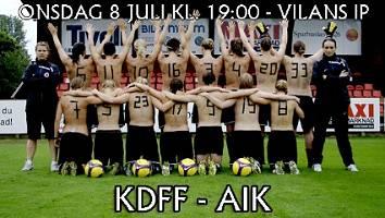 Kristianstad FF - Nackt gegen den Ruin