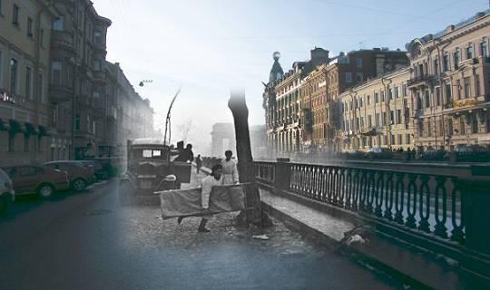 St. Petersburg heute – Leningrad 1941/44