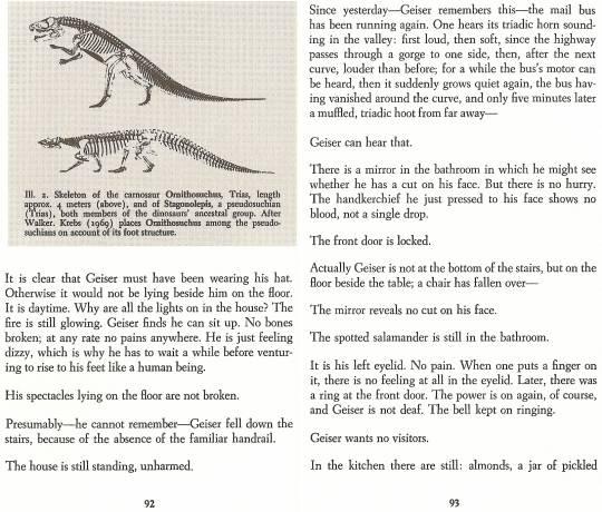 Auszug aus: Max Frisch - Man in the Holocene