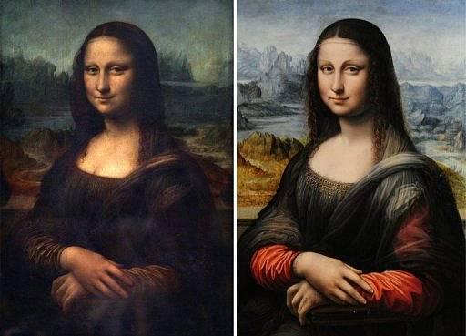 Mona Lisa - alt und neu