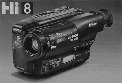 Nikon VN-6000 PAL Hi8 (Dezember 1994 gekauft)
