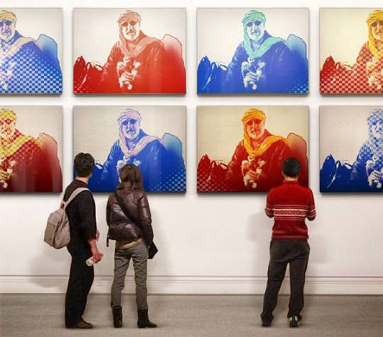 Willi als Warhol-Motiv
