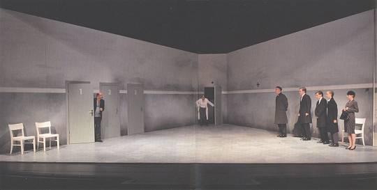 Ensemble des Ernst Deutsch Theaters (aus dem Programmheft)