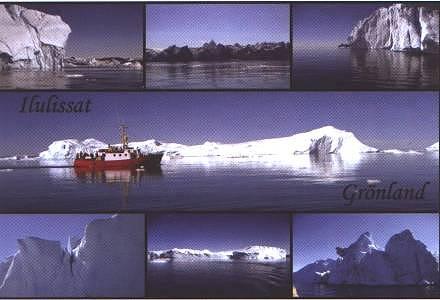 Postkarte: Grönland