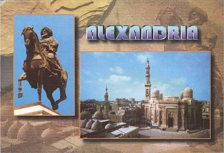 Postkarte aus Alexandria