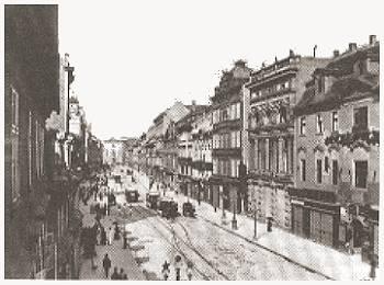 Der 'Graben', die Fortsetzung der Ferdinandstraße, Photographie, um 1890