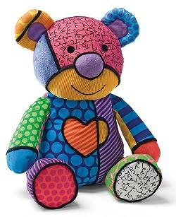 Christas Bärchen: Romero Britto - Tallulah the Teddy