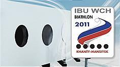 Biathlon-Weltmeisterschaft 2011 Chanty-Mansijsk/Sibirien