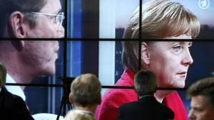 Tante Merkel & Onkel Guido: Tigerenten-Duo