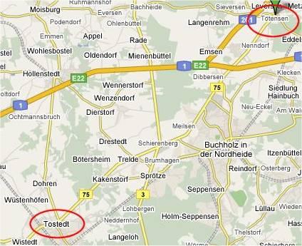 Tötensen - Tostedt