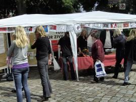 Tostedt ist bunt 2008: Forum für Zivilcourage