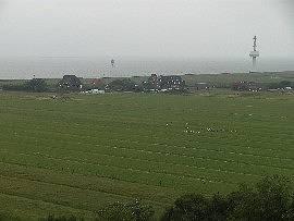 Blick Richtung Westen Nordbake & Radarturm