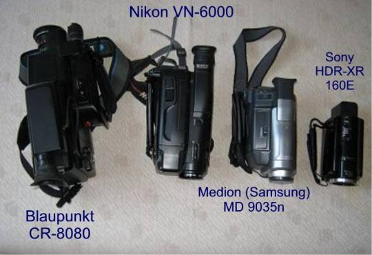 WilliZ Videokamera-/Camcorder-Sammlung