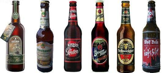 Bierkalender (Advent): die Türchen 1 bis 6