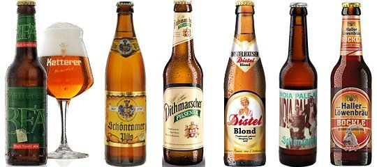 Bierkalender (Advent): die Türchen 19 bis 24