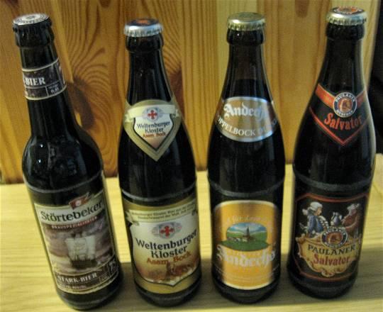 Stark-, Bock- und Doppelbockbiere – aus deutschen Landen