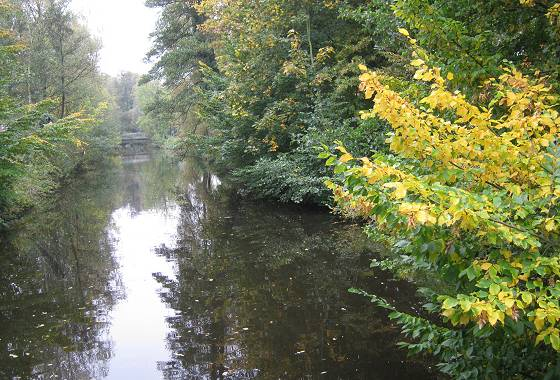 Buxtehude 2017: Herbstliche Impression am Fleth