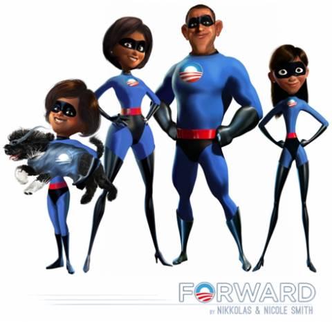 The Incredible Obamas